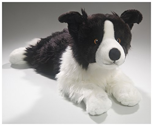 - Border Collie Lying, 24 inches, 55cm, Plush Toy, Soft Toy, Stuffed Animal 3369