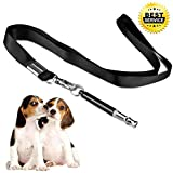 Dog Whistle, 2019 Professional Ultrasonic Dog Training Whistle to Stop Barking,Adjustable Pitch Training Tool Silent Bark for Dogs Training -Free Premium Lanyard Strap(1Pack Upgraded version)