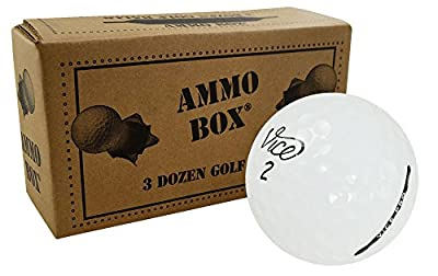 Vice Assorted Near Mint Used Recycled Golf Balls3-Dozen