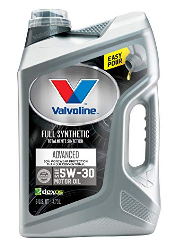 Valvoline  Advanced Full Synthetic SAE 5W-30 Motor Oil 5 QT (91 Honda Civic Engine)