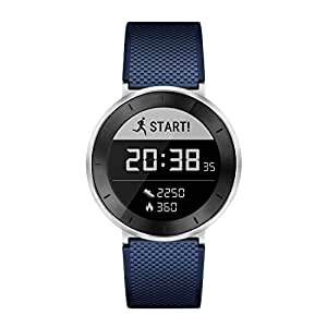 HUAWEI Fit Fitness Tracker - Moonlight Silver/Blue Large (Certified Refurbished)