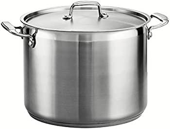 Tramontina Gourmet 16-Quart Covered Stainless Steel Stock Pot