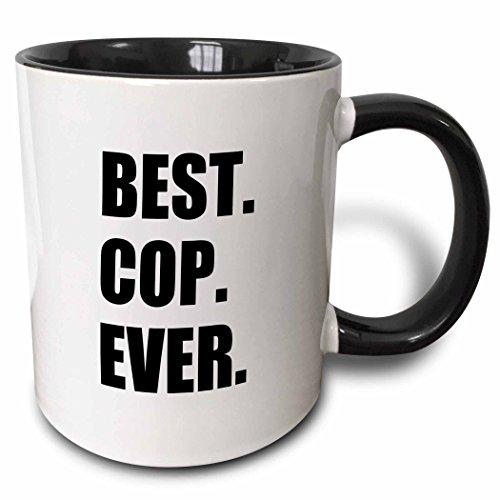 3dRose mug_179770_4 Best Cop Ever