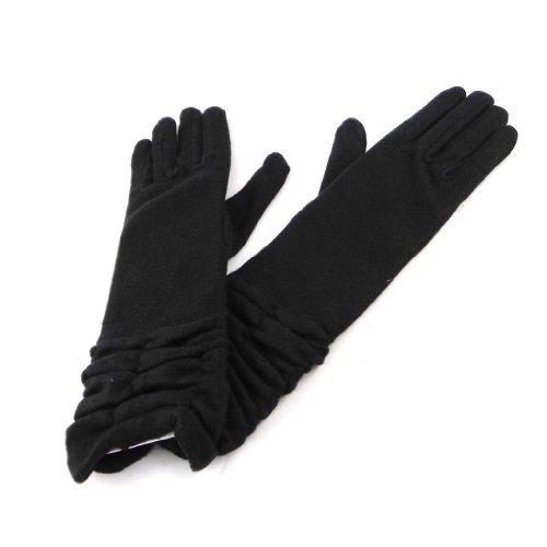 [リリーの宝 (Les Tresors De Lily)] (Clothilde コレクション) [H8575] 手袋 ブラック