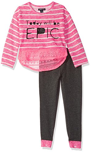Limited Too Little Girls' Knit Top and Legging Set (More Styles Available), Multi/Multi, 4