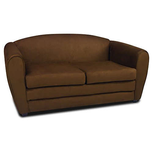 Kangaroo Trading Sky Blue Tween Sleeper Sofa by Kangaroo Trading