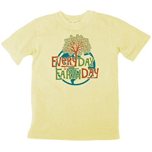 Earth Creations Boys Clay Dyed Earth Day Tree T-Shirt 9|10