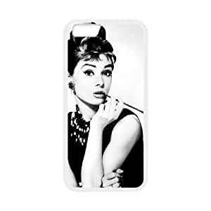 iphone6 4.7 inch Phone Case White Audrey Hepburn UYUI6782007