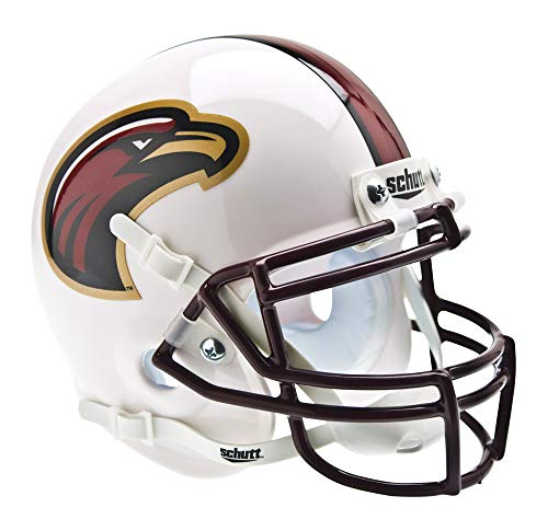 Indians Mini Helmet - Schutt NCAA Mini Authentic XP Football Helmet, Louisiana-Monroe Indians