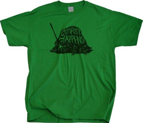 Ann Arbor T-Shirt Co. Men's Compost Happens T-Shirt