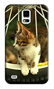 Sangu Cat Hard Back Shell Case / Cover for Samsung Galaxy S5