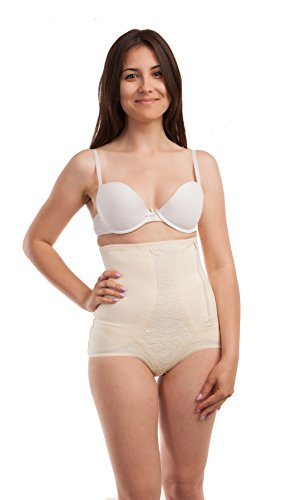 Gabrialla Abdominal Waist Support Body Shaping Slimming Girdle (reduces up to two sizes) Small by GABRIALLA (Image #2)