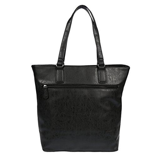 37x33x15 Cm Pour Porter Noir Sac Wippermann® Christian À L'épaule Femme xqza8zvwRA
