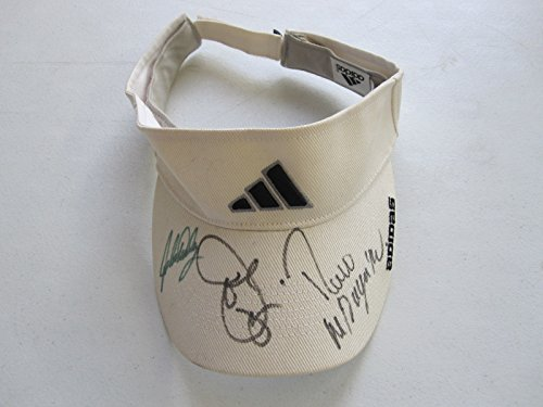 - Adidas Visor Autographed by John Daly, Joe Pesci, and Rocco Mediate The Sports Page COA