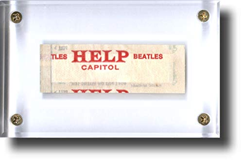 "Beatles Collectible: -""HELP!"" ORIGINAL 1965 Movie RARE Bandage Memorabilia – Perfect Gift! (includes ""Letter/Certificate of Authenticity"" (LOA/COA) by Beatles4me)"