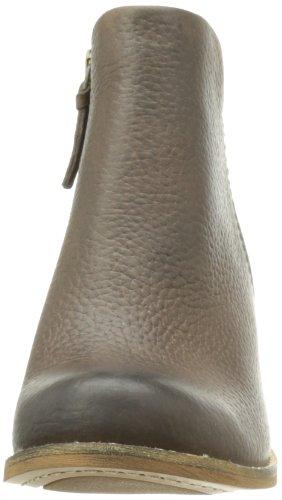 Clarks Marble Cool 20355400 Damen Biker Boots Braun (Dark Brown Lea)