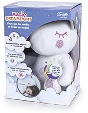 Famosa Softies - Magic Dreams eenhoorn, pluche met lichten en geluid, 25 cm, meerkleurig (Famosa 760017263)