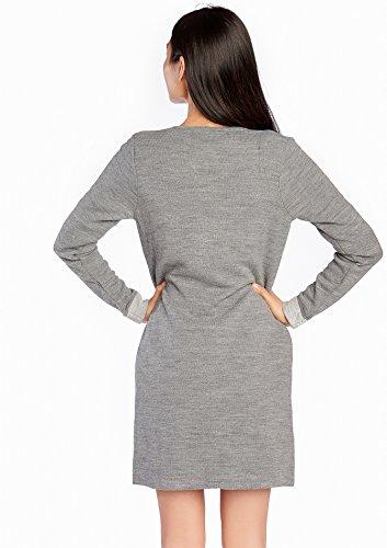 LOLALIZA - Cardigan avec bouttons à pression - Light Grey Mel - Tailles XS-XL