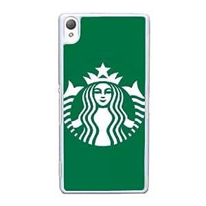 Design Cases Sony Xperia Z3 Cell Phone Case White Starbucks Vcaye Printed Cover