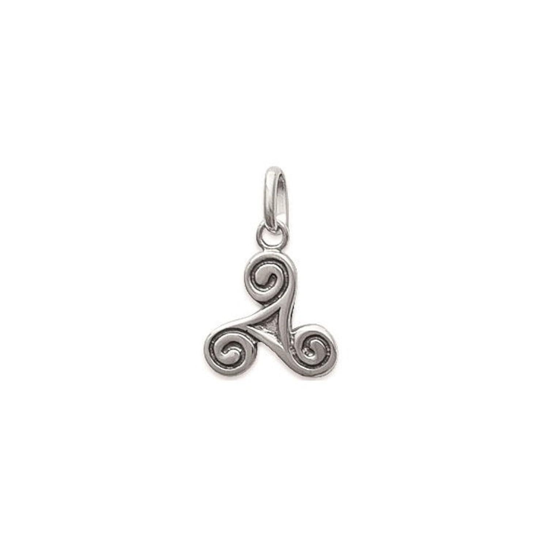 9a4ad7321b67 Colgante de plata 925 símbolo Triskel unisex El servicio durable ...