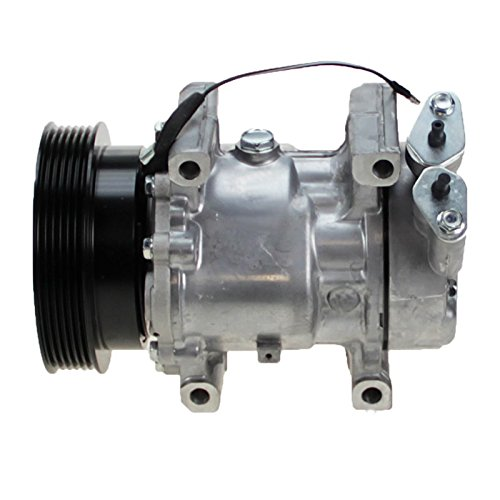 1x Compresor de aire acondicionado RENAULT CLIO 2 II 1.2,1.4,1.5,1.6 DESDE 1998; RENAULT KANGOO 1.6 16V DESDE 2001 + RAPID; RENAULT MEGANE CABRIOLET 1.6 16V ...