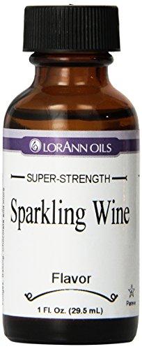 LorAnn Artificial Flavoring Oils, Champagne Flavoring Oil, 1-Ounce Bottles (Pack of (Lorann Champagne)