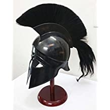 Shiv Shakti Enterprises Greek Corinthian Helmet Ancient Medieval Armor Knight Spartan Replica Helmet by Shiv Shakti Enterprises