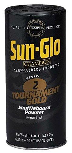 (Sun Glo Shuffleboard Powder - Speed 2 - Tournament Gold )