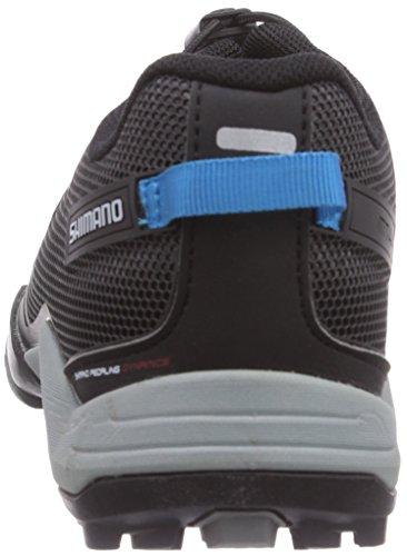 Zapatos de bicicleta de montaña Shimano adultos kanirope MT 44 L, colour negro, talla 37