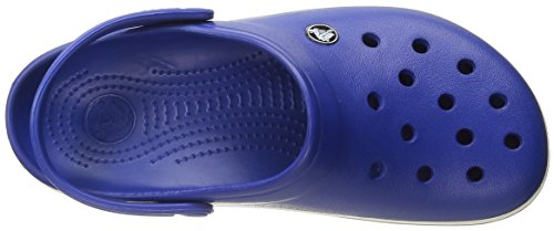 Sabot Blu Adulto Unisex Crocs Crocband oyster Blue cerulean U SxO1qzf