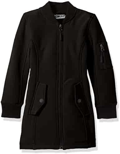 DKNY Girls' Long Outerwear Jacket (More Styles Avaialble)