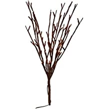 The Light Garden 184136 60 Light Willow Branch With Warm White LEDu0027s , 20  Inch