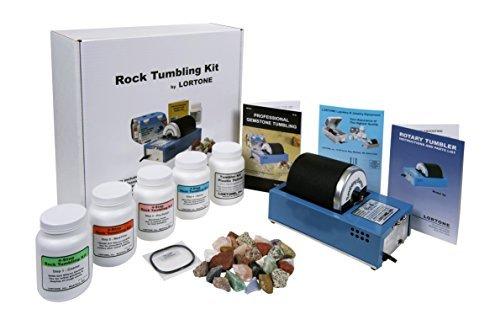 - Lortone 3A Deluxe Rock Tumbler Kit