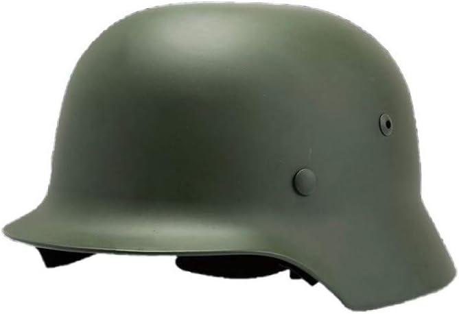 QXFJ Open Face Helm Jethelm Mopedhelm Motorradhelm Hochwertiges Stahlschmieden Helm Gesicht Mattiert Retro Kinnriemen Zarte Kante Nylonschnalle Tragbarer Helm Unisex