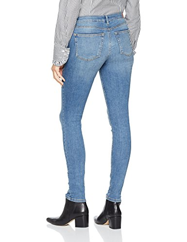 Light Nele Denim Azul Slim para Wash 1051 Jeans Vaqueros Tom Stone Mujer Tailor HqEPwH08