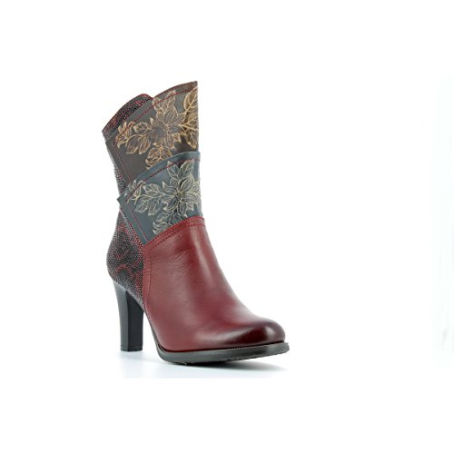 09 en LAURA au cuir Bottes 35 VITA Bottines LAURA 40 Bottines VITA ALBANE Bordeaux Eqq0fSw