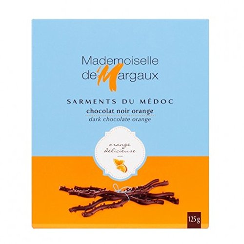 - Dark Chocolate with Orange Twigs