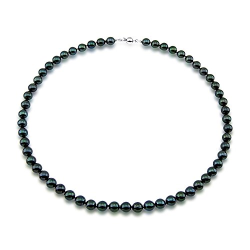 70-75mm-High-Luster-Black-Akoya-Cultured-Pearl-Necklace-18-Length-AA-Quality