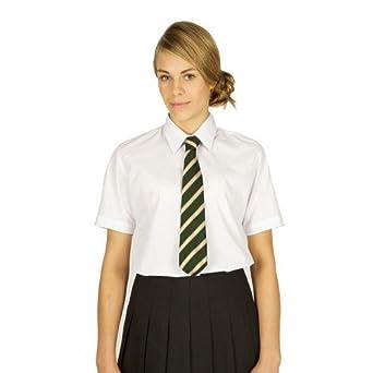 art no 7076 pack of 2 blouses S//S School Blouse White