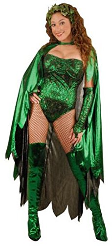 Adult Poison Ivy Costume Size: Women's X-Small 2-4