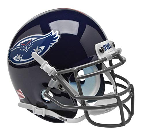 Schutt NCAA Mini Authentic XP Football Helmet, Florida Atlantic Owls
