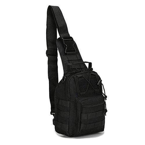 AIWAYING EDC Bag Sling Chest Bag Military Shoulder Daypack Multi-Functional Tactical Backpack for Men Women
