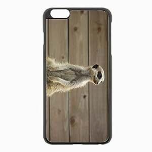iPhone 5c Black Hardshell Case - meerkats meerkat sit Desin Images Protector Back Cover