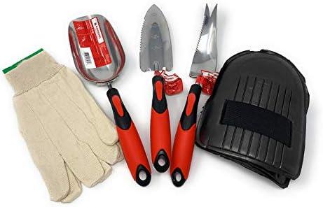 Corona Garden Tools Set – Stainless Steel Hand Trowel Transplanter Weeder and Scoop – eGrip with Ergonomic Grip CT 3260D 3220D 3250D