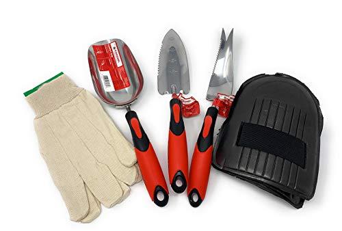 - Corona Garden Tools Set - Stainless Steel Hand Trowel Transplanter Weeder and Scoop - eGrip with Ergonomic Grip CT 3260D 3220D 3250D