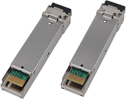 [1 Pair] Handar for Cisco 1.25G BiDi SFP Transceiver Tx1310nm/Rx 1550nm and Tx1550nm/Rx1310nm DFP PIN Single Mode LC Connector 20km by Handar (Image #3)
