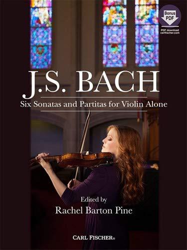 Barton Fiddle - Carl Fischer Bach-Six Sonatas and Partitas for Violin Alone