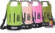 arteesol Dry Bag, 5L 10L 20L 30L Waterproof Dry Bag/Sack Waterproof Bag with Waterproof Phone Case Long Adjust