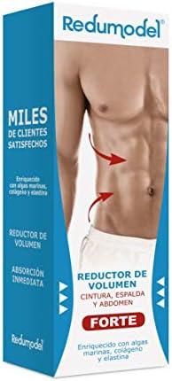 Redumodel Forte - Fórmula Reductora Intensiva de Volumen y Grasa En la Zona Abdominal Masculina, Blanco, 250 ml