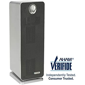 "GermGuardian AC4900CA 22"" 3-in-1 Full Room Air Purifier, HEPA Filter, UVC Sanitizer, Home Air Cleaner Traps Allergens for Smoke, Odors, Mold, Dust, Germs, Pet Dander, 3 Yr Warranty Germ Guardian"